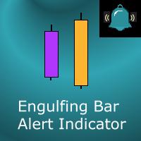 Engulfing Bars custom alert indicator for MT4