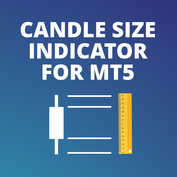 Candle size indicator for MetaTrader 5