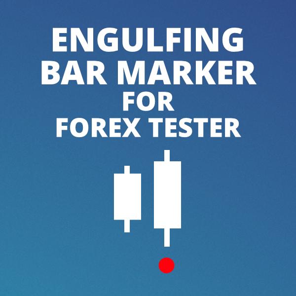 Forex Tester Engulfing Bar marker