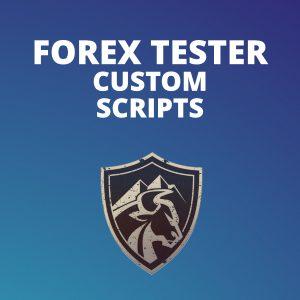 Forex Tester Custom Scripts