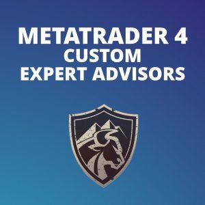 MetaTrader 4 Custom Expert Advisors (EA)