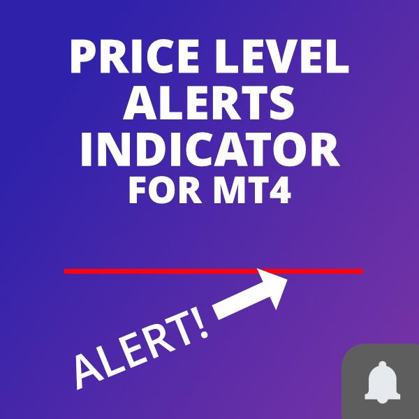 Price level alerts for MetaTrader 4