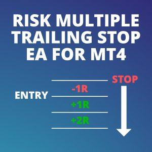 Risk multiple trailing stop EA