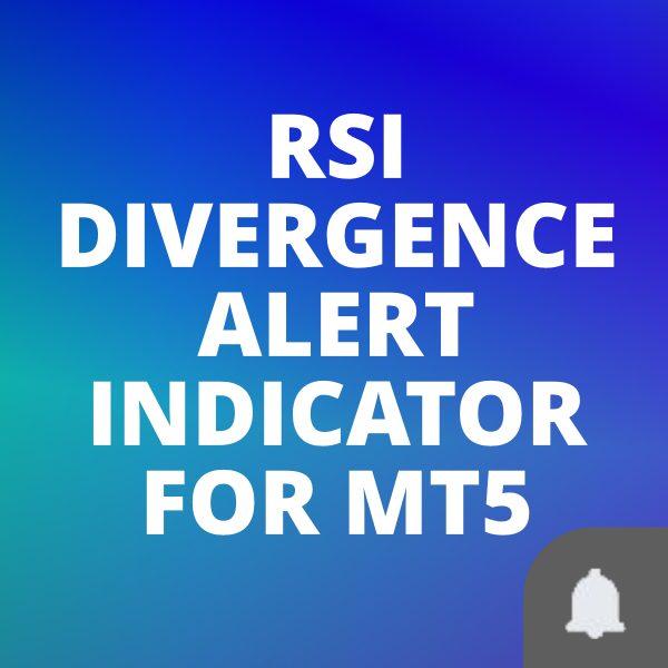 RSI divergence custom indicator for MT5